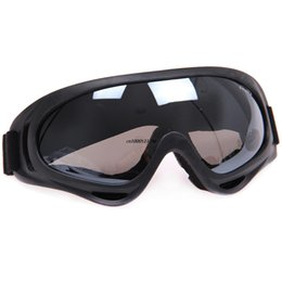 Wholesale Motorcross Cycle - Wholesale-Airsoft Safety Motorcycle Goggle X400 Ski Cycling Motorbike Motorcross Glasses Racing Goggles Outdoor cycling Free Shipping