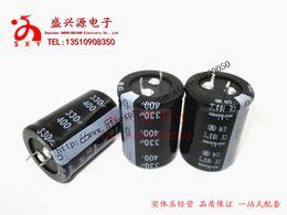 Wholesale Aluminum Specification - Wholesale- 400v v330uf quality hard feet aluminum electrolytic capacitor specification: 30 * 40