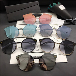 Wholesale Femme Mirror - 2017 New arrival high quality designer brand women sunglasses men sun glasses luxury steampunk sunglass lunette de soleil femme