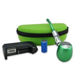 Wholesale Ego Luxury Kits - Newest Kamry K1000 electronic cigarettes eGo kits luxury pipe EPIPE Suitewooden pen evaporator coils of ECIG ecigar E CIG vaporizer vape kit