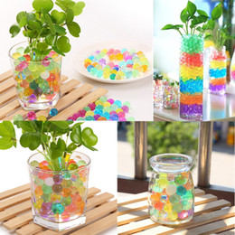 Wholesale Magical Beads - 3000PCS Set Magical Soil Gel Beads Crystal Soil Beads DIY Sensory Toys Party Home Decoration Accessory