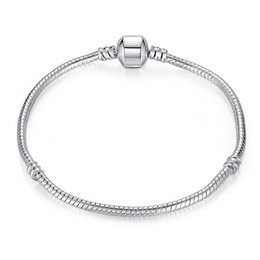Wholesale Clasp Magnets - 2016 Hot 925 sterling silver chain bracelet magnet clasp simple wild neutral style fashion jewelry free shipping 10pcs lot