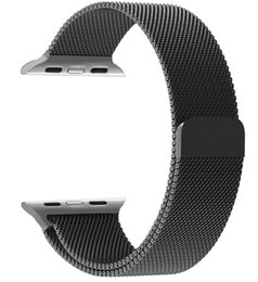 Wholesale Magnetic Tags - Hot selling New watch strap Magnetic Milanese Loop Stainless Steel Magnet Lock Band For smart watch
