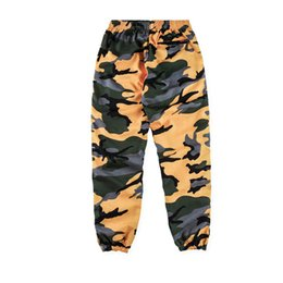 Wholesale Brand Track Pants - vetements 2018ss brand new hiphop sup Camouflage jogging Sweatpants casual box logo printing Men women Joggers feet Pants track pants S-XL