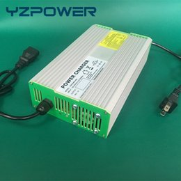 Wholesale Ebike 24v - YZPOWER 29.2V 14A 13A 12A Smart Intelligent LifePO4 Battery Charger For 24V Electric Scooter Bicycle Ebike Wheelchair Battery Carregador De