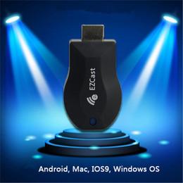 M2 tv on-line-Ezcast W2 M2 IPush Chromecast TV Dongle Suporte HDMI Miracast DLNA Airplay Sem Fio Streaming Media Player Push Para Projetor de TV
