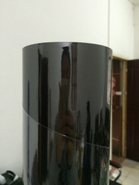 Wholesale Flexible Mirror Doors - Best Quality Flexible High Glossy Chrome Black Vinyl Wrap For Car Wrapping Bubble Free Size:1.52*20M