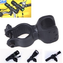 Wholesale Bike Mount Light - Hot Selling Universal 360 Swivel Bicycle Bike Mount Bracket Holder Torch Clip Clamp for led flashlight laser pointer Free Shipping