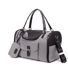 Cane trasportano borse zaini online-Borsa per il trasporto di zaino da viaggio per cani, borsa da viaggio di lusso per cani di piccola taglia