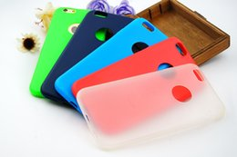 Wholesale Silicon Rubber Wallets - Rubber Silicone case for iphone 7 7S plus 6 6S ultra thin silicon gel soft jelly rubber bumper case