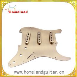 Wholesale Guitar Scratch Plates - Anodize  Anodic oxidation pickguard pickup cover for ST guitar Aluminium alloy scratch plate