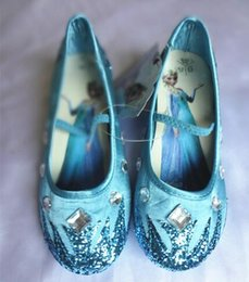 Wholesale Girl S Dresses Flower Fall - Children 's ice and snow Margaret Aisha shoes Aisha Shui Xie Chunqiu girls high heels princess shoes leather shoes