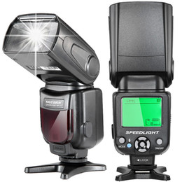 Wholesale Dslr Lcd - Neewer E-TTL Speedlite Flash with LCD Display,Hard Diffuser and Protecting Bag for Canon DSLR Cameras