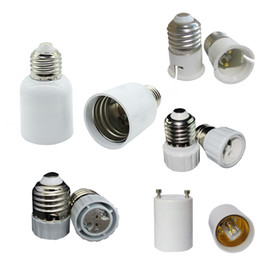 Wholesale e26 e27 sockets - E27 Turn to E40 Adaptor LED Lamp Adapter LED Lamp Holder Screw E14 E26 B22 light Socket Wedge GU5.3 GU10 G9 MR16