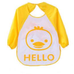 Wholesale Translucent Cloth - Wholesale- Plastic Bibs for Children Unisex Cartoon Animals Waterproof Silicone Infant bibs Translucent Soft Baby Cloth pano de boca baby