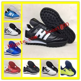 Wholesale Mundial Soccer - ACE 17 Purecontrol IC TF Football Shoes Men X 16 17.1 Purechaos FG Soccer Cleats Indoor mundial team Football Boots copa Mania Glitch