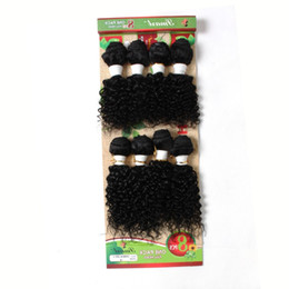 Wholesale remy 27 piece hair - Kadoyee Human Virgin Remy Hair Extensions Kinky Jerry Curl Hair Weaves Bundles Black 1b 27 1b Bug 1b 30 Ombre Color Hair Weft
