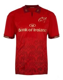 Wholesale Ireland Jersey Xl - 2017 2018 Munster Rugby jerseys 2017-18 top quality home away rugby shirts euro size S-3XL men Munster shirts Ireland league shirts