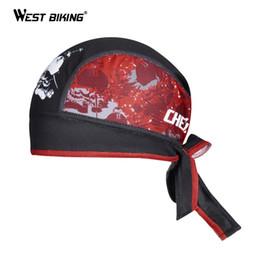 Wholesale Outdoor Bike Cycling Helmet - 2015 New Brand Mens Cycling Bike Bicycle Headscarf Hat Caps Mesh Breathable Bandana Ciclismo Outdoor Sports Scraf Cap Helmet