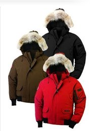 Wholesale Doudoune Femme - New Women Bomber Femme Outdoors Fur Down Jacket winter Thick Warm Windproof Goose Down Coat Thicken Fourrure Hooded Jacket Manteaus Doudoune