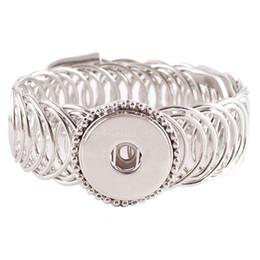 Лучший Продавец высокое качество сменные Оснастки браслеты ювелирные изделия для 18-20мм защелки подходят имбирь защелки Kc0622 от