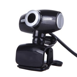 Wholesale Wholesale Video Cameras China - 12MP HD USB Webcam Night Vision Chat Skype Video Camera for PC Laptop New Promotion High Quality
