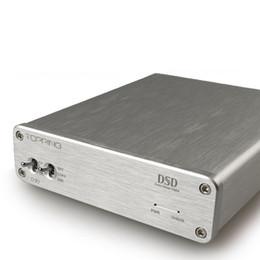 Usb digitaler decoder online-Freeshipping Neuester Belag D30 Desktop Hifi Digital DSD Audio Decoder XMOS USB DAC koaxialer optischer Faser CS4398 Verstärker 24Bit 192KHz