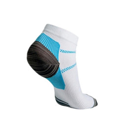 Wholesale womens nylon socks - Wholesale-2016 New Unisex Calcetines Thermal Running Sport Socks Mens & Womens Outdoor Comfortable Foot Compression Socks drop shipping