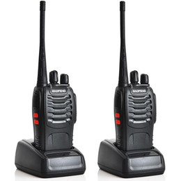 Wholesale Handheld Uhf Cb Radio - 1pcs BAOFENG BF-888S Handheld Walkie Talkie UHF 400-470MHz 5W 16CH Single Band Portable CB RadioTwo-Way Radio