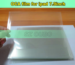 Wholesale Refurbished Apple Mini Ipad - 20Pcs lot 7.9 Inch OCA Film optical Clear Adhesive Double Side Glue Sticker For iPad 2 Mini LCD Refurbish