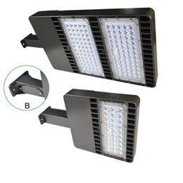 Wholesale Garden Roads - 2016 LED parking lot lights led shoe box fixture ETL DLC Certificate 24W-300W 90-305V IP65 MW drive LED Street Light garden road