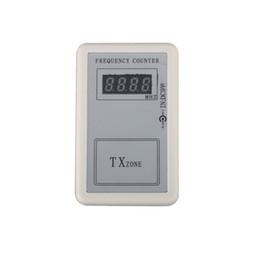 ferramenta de diagnóstico de caminhão grátis Desconto Atacado-Digital Freqüência Contador Tester Indicador Detector Cymometer Wavemeter Transmissor de Controle Remoto 250-450 MHZ Baixo Preço de Venda