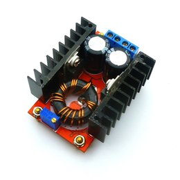 Wholesale Power Supply 32v - Free shipping 1pcs 150W DC-DC Boost Converter 10-32V to 12-35V Step-Up Voltage Power Supply Module