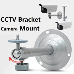 Wholesale Ceiling Mounted Monitor - monitoring camera bracket cctv bracket Metal Security CCTV Camera Accessories Stand Wall Ceiling Mount Bracket by DHL