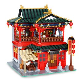 Wholesale Building Block Sets - XingBao 01002 The Beautiful Tavern Set 3267pcs with Original Box for Reselling Lepin Blocks Creative Building Series XB01002 Lepin Toys