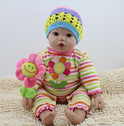 Wholesale Reborn Limbs - 20 Inch Realistic Silicone Baby Reborn Dolls With 1 4 Limbs Handmade Baby Alive Kids Doll 50cm Toy For Girls