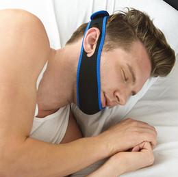 2019 cintura del mento apnea del sonno Top Quality Anti Snore Chin Strap Stop Snoring Cintura per il mento Cintura da russare Soluzione anti-apnea della mascella Sostegno non valido sconti cintura del mento apnea del sonno