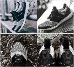 Wholesale social shoes - 2017 New Ultra BOOST 3.0 SNS x Social Status x triple black ultra boost Rainbow Multicolor Sneakers Ultraboost Primeknit sneakers shoes