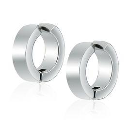 Simple mode bijoux unisexe 316L chirurgical en acier inoxydable clip sur boucle d'oreille femmes hommes oreille brassard livraison gratuite ? partir de fabricateur