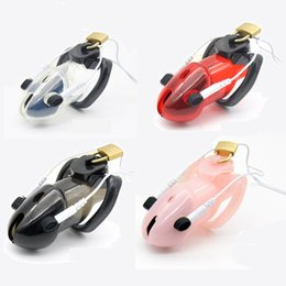 Wholesale Electric Male Shocking Sex - 2018 Latest Male PC Electric Shock Pulse Stimulate Cock Cage With 3 Penis Ring Bondage Chastity Device Lock Adult Bdsm Sex Toy 4 Color A178