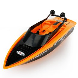 Wholesale Boat R C - New Arrival 3323 High Speed Radio Remote Control Mini RC Submarine R C RACING BOAT Toy Speedboat