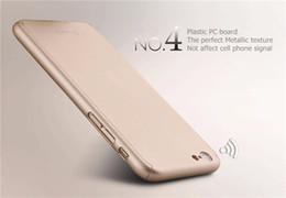ajuste protector de pantalla Rebajas IPAKY 360 Degree All-round Funda protectora Slim Fit con pantalla de cristal templado Protector de pantalla para Apple iPhone 6s plus