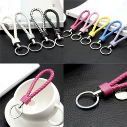Wholesale Diy Cell Phone Decorations - Cellphone Case Lanyard Creative DIY Key Chain Buckle Car Wallet Decoration Cell Phone Straps Charms Accessories Factory Free DHL 391