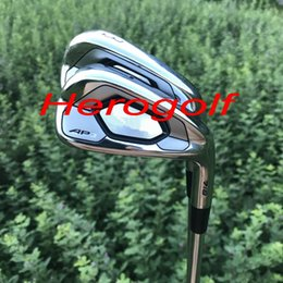 Wholesale Forge Club - New golf irons AP3 718 forged irons set (3 4 5 6 7 8 9 P ) with original dynamic gold S300 steel shaft high quality golf clubs