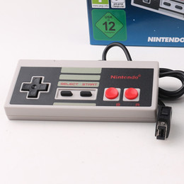 Wholesale Free Games Nes - Wired Controller for Nes mini Classic Edition Wired controllers Game Console controllers wired DHL Free
