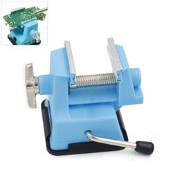Wholesale Pcb Table - Mini Table Vise Suction Bench Clamp For DIY PCB Fixture Repair Jaw Opening 25mm
