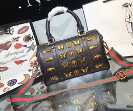Wholesale Womens Silk Tops - 2018 Top quality womens fashion Shoulder bag red green Shoulder strap haversack handbags message bag Designer luxury dorothy bag