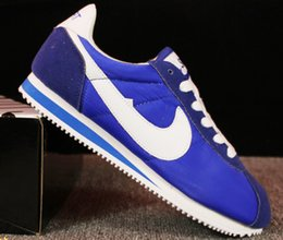 Wholesale Network Shoes - Sales! 2016 classic yin and yang men and women autumn and autumn casual sports shoes racing shoes Cortez shoes leisure sports network 36-44