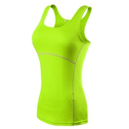 Wholesale Womens Xl Cami - TT93 Plus Size S-XXL Compression Under Base Wear Womens Sleeveless Tank Tops Ladies Casual Shirts Skins Cami Vest 2016 New