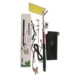 Wholesale Trip Lights - 96pcs LEDs COB 12V LED Telescopic Fishing Rod Outdoor Camping Road Trip Street Lights